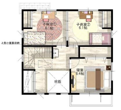 2 階 30 坪 建て 間取り 20坪~25坪の間取り図 夢のような素敵空間13選!広さや費用も知っておこう!